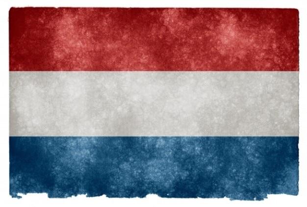 Нидерланды гранж флаг