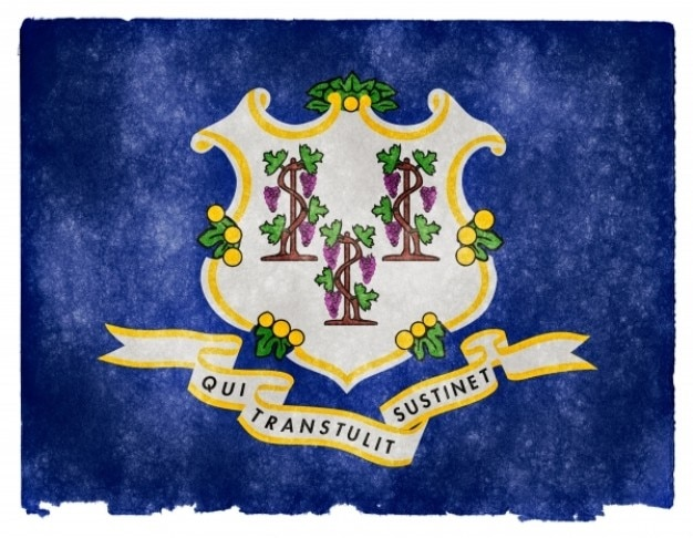 Коннектикут гранж флаг