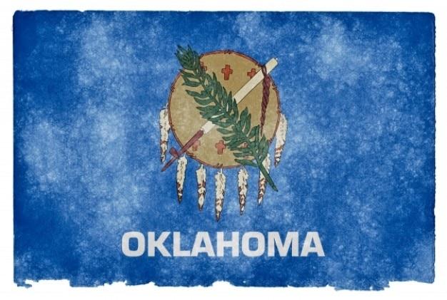 Оклахома гранж флаг