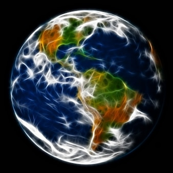 Земля абстрактных