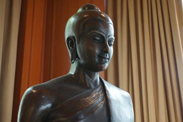 黒い仏像、バンコク、タイ