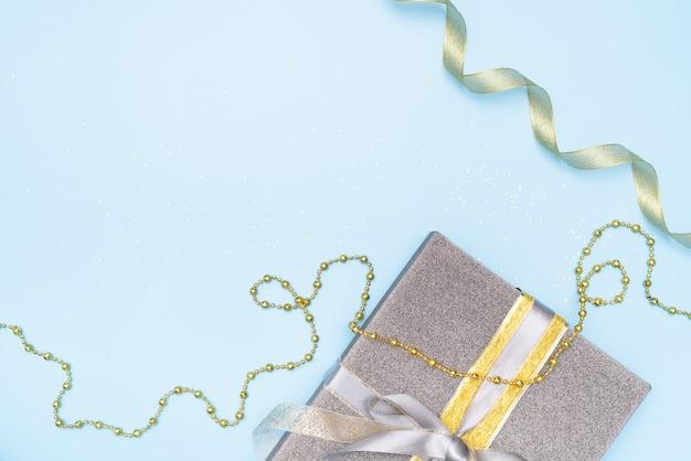 誕生日、クリスマスや結婚式のためのギフトボックス