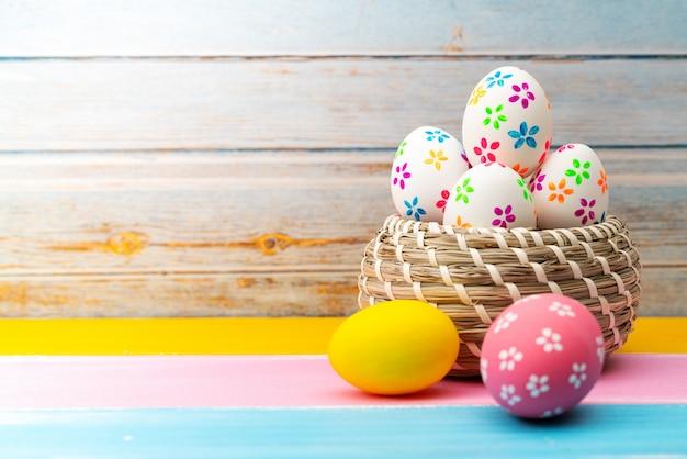 Пасхальное яйцо, счастливой пасхи воскресенье охота праздничные украшения