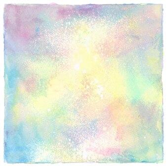 白地にカラフルなスプレー式塗料