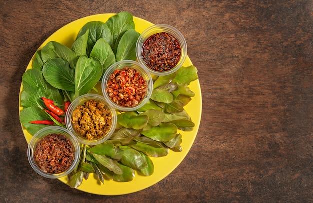 Тайская паста в стиле чили