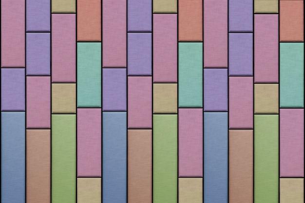 布の質感から抽象的なカラフルな壁の背景