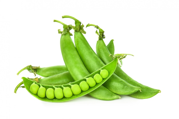 シュガーエンドウ豆の分離
