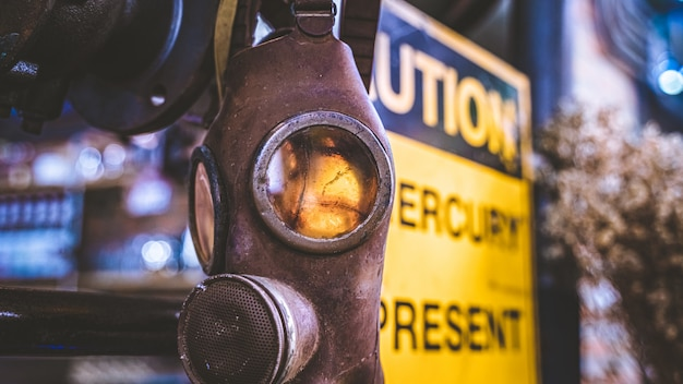 Промышленная маска для защиты себя