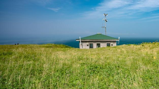 海の景色を背景に自然の風景