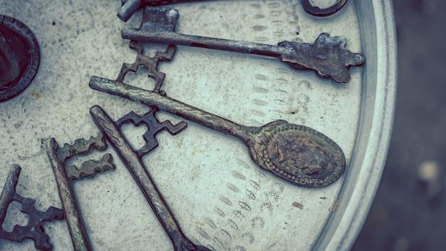 Старинные турецкие ключи