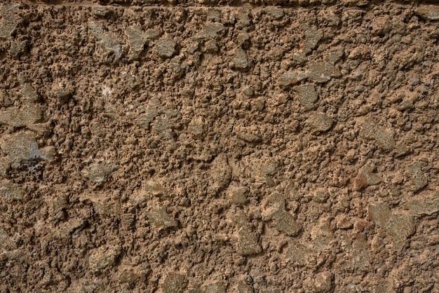 ブラウンセメント壁