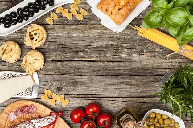 Итальянские пищевые ингредиенты