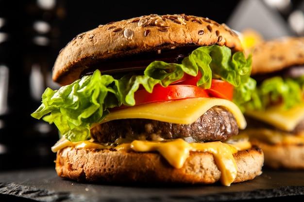 おいしい焼きハンバーガー