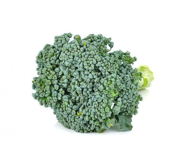 ブロッコリー野菜白で分離