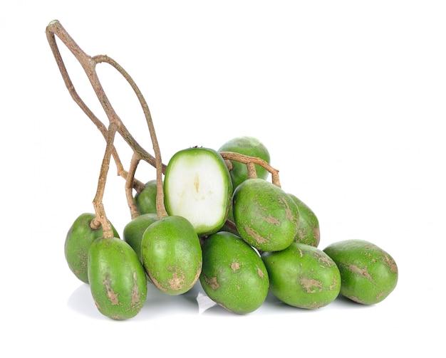 タイのマコック(豚プラムまたはスペインプラム)またはオリーブ果実