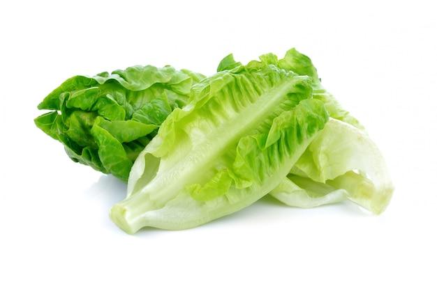 Свежий ребенок, потому что салат на белом фоне