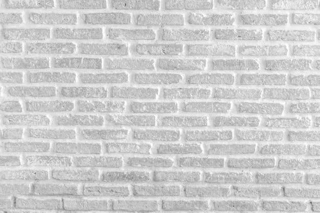 白いレンガの壁のテクスチャグランジ背景