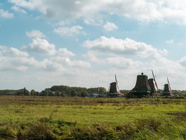 風車の背景