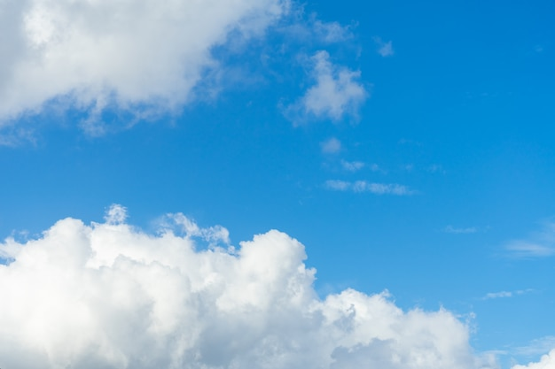 空の自然の背景。