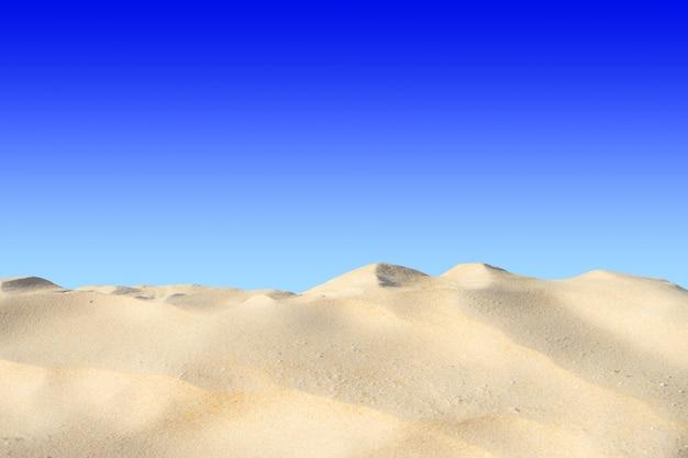 Красивый пейзаж песчаных дюн