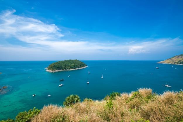 アンダマン海の景色。プーケットタイで