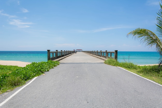 海への桟橋
