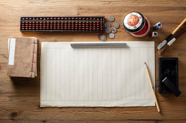 伝統的なアジアのデスクトップの背景