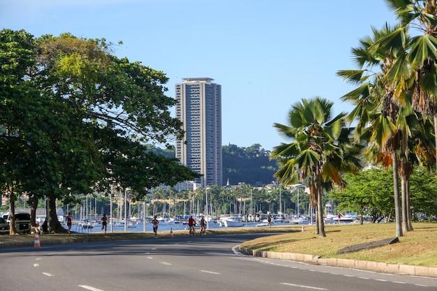 リオデジャネイロのフラメンゴ埋立地