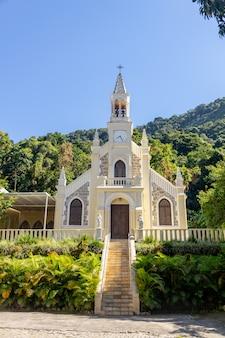 ブラジル、リオデジャネイロの優美教会の聖母