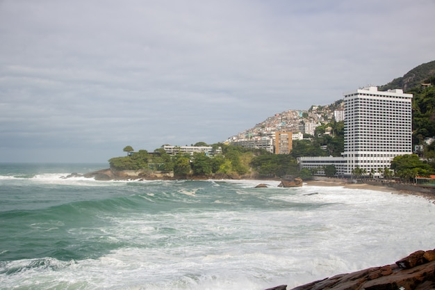 リオデジャネイロのヴィディガルビーチ