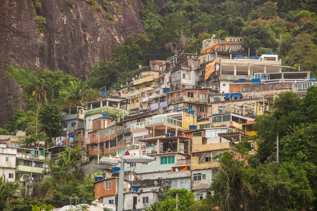 リオデジャネイロのスラムスカイファーム
