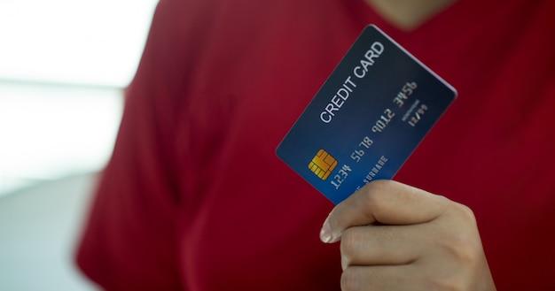 Кредитная карта на руках