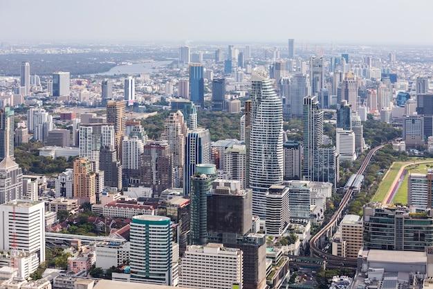 バンコクの航空写真