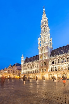 ベルギーのブリュッセルのグランドプレイス