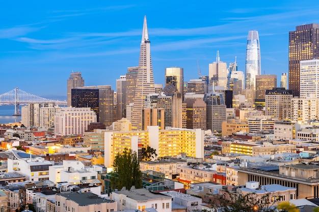 Сан-франциско горизонт города