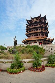 イエロークレーンタワー寺院武漢湖北省中国