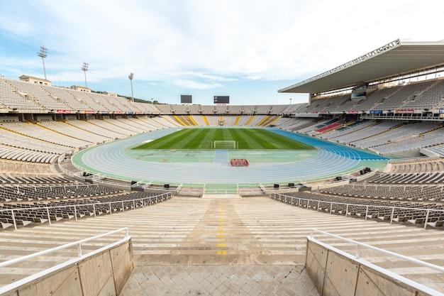 Олимпийский стадион барселона, испания