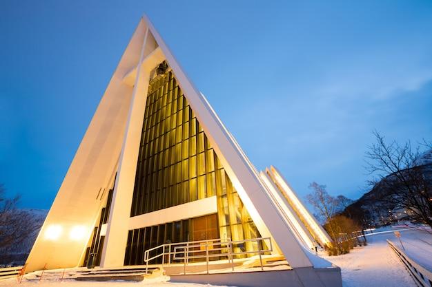 北極の大聖堂トロムソノルウェー
