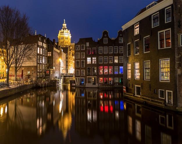 アムステルダムの夜