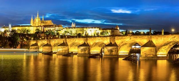 プラハの夕暮れ