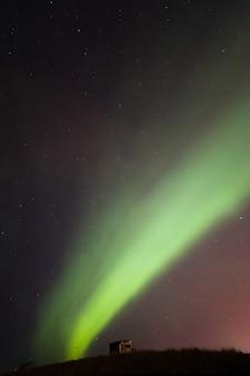 オーロラオーロラアイスランド