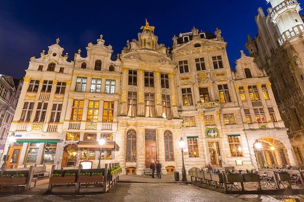 ベルギーブリュッセルのグランプラス