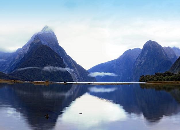 ミルフォードサウンド、ニュージーランド