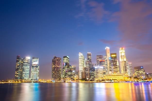 シンガポール市内のダウンタウン