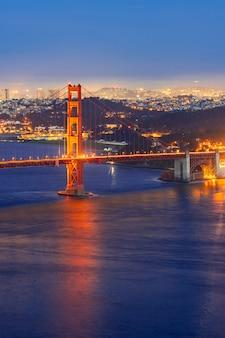 Мост золотые ворота закат