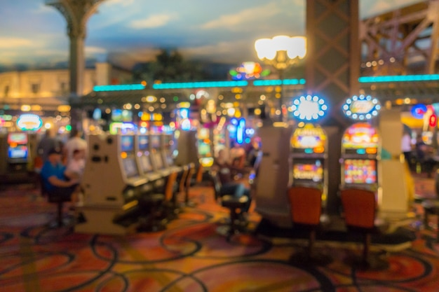 ラスベガスのカジノの背景