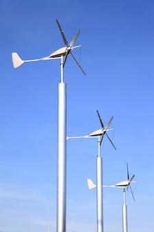 風力タービン農場