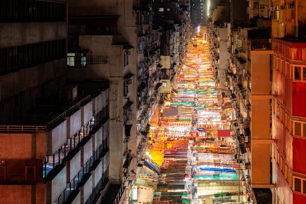 Темпл-стрит ночной рынок гонконг