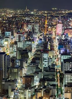 名古屋の空撮