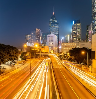 Городской пейзаж гонконга